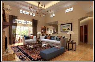 Perez Villa Living Room